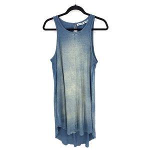 Michael Stars Keyhole Slit Back Hi-Low Tank Dress